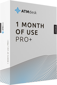 ATMdesk/Pro+ 1 Month of Use