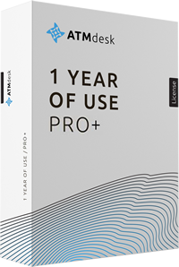 ATMdesk/Pro+ 1 Year of Use